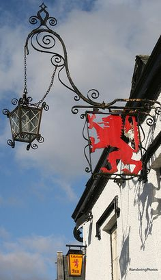 Pub Sign for the Red Lion - Hawkshead Lake District Cumbria England Pub Signs, Shop Signs, Personalised Photo Cards, Cafe Sign, Old Pub, British Country, Create Photo, Cozy Mysteries, Cumbria