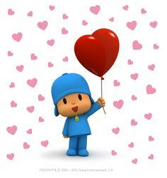 Pocoyo with love