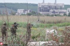 ATO forces shooting back at terrorists