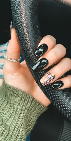 Arbonne 30 Days To Healthy Living Discover Burberry Nails Acrylic Nails Coffin Short, Summer Acrylic Nails, Best Acrylic Nails, Acrylic Nail Designs, Summer Nails, Coffin Nails, Spring Nails, Acrylic Nails Green, Acrylic Nails For Fall