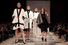 Argentinean Fashion brand SIENNA by designer Florencia Carli in Buenos Aires Fashion Week. Spring Summer fashion show Fashion Brand, Fashion Show, Spring Summer Fashion, Duster Coat, Photo And Video, Creative, Jackets, Life, Instagram