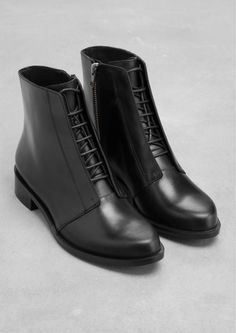 & Other Stories | Lace-Up Boots