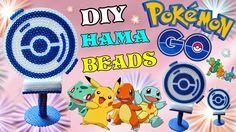 PokeStop Pokemon Go con Hama Beads   Tutorial ✿  Guarda il video qui:  https://youtu.be/5OVKk1741a4