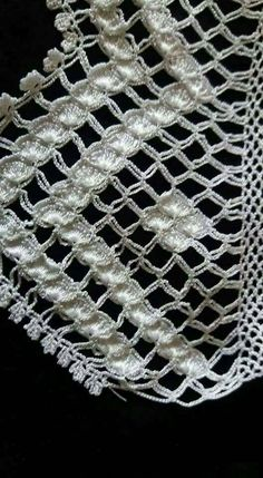 1 Million+ Stunning Free Images To Use A - Diy Crafts Crochet Lace Edging, Crochet Borders, Crochet Diagram, Crochet Round, Filet Crochet, Crochet Doilies, Crochet Flowers, Crochet Stitches, Knit Crochet
