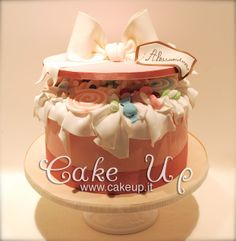 Open Box Candy cake