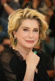 "Well over 60 and still looking good, a ""je ne sais quoi"" for this fabulous French actress, dame catherine deneuve"