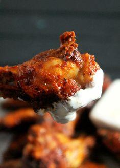 ... street baked hot wings recipes dishmaps jackson street baked hot wings