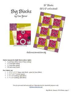 big block quilt color by dee.pdf - Google Drive