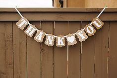 Thank You Wedding Bunting Banner Photo Booth Garland Props Anniversary Bridal Party Decoration chaoqun http://www.amazon.com/dp/B00PRW51M8/ref=cm_sw_r_pi_dp_5JiDub1CQZ419