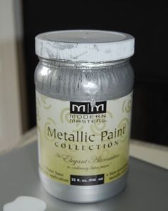 Silver Painted Furniture Love It Best Stuff Metallic Pinterest Paint And