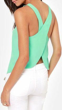 New Women's Fashion Lady Summer Blouse Chiffon Casual Shirts Sexy Back Strap Tops Vest T-shirt Passion For Fashion, Love Fashion, Womens Fashion, Chiffon Shirt, Chiffon Tops, Dms Boutique, Fasion, Fashion Outfits, Sexy Shirts