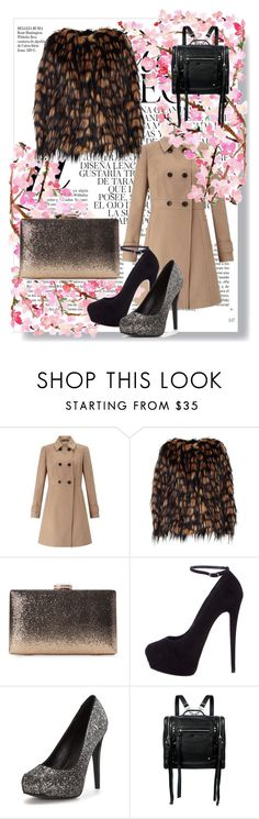 """""""tiger fashion"""" by gadinarmada-1 ❤ liked on Polyvore featuring Miss Selfridge, Dries Van Noten, Giuseppe Zanotti, McQ by Alexander McQueen and Whiteley"""