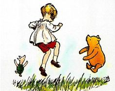 Lots of people talk to animals…Not very many listen, though…that's the problem.    The Tao of Pooh