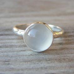 Dew Drop Moonstone Ring