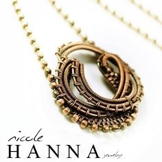 TUTORIAL: Medallion Pendant from Nicole Hanna Jewelry- This is a fabulous pendant and the best part is this exquisite artist sells tutorials so you can make her exciting jewelry yourself. She is a true inspiration.