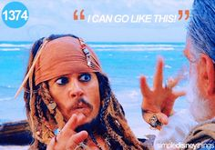 Pirates of the Caribbean- movie quote