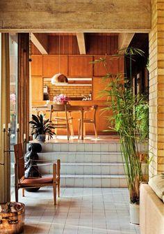 "Jørn Utzon's ""Bright House"" - Subtle Danish Modern - Mid Century Home Houses Architecture, Architecture Design, Architecture Panel, Drawing Architecture, Architecture Portfolio, Decoration Design, Deco Design, Danish Modern, Rustic Outdoor Decor"