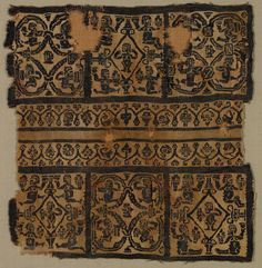 Egypt, Byzantine period, 6th-early 7th century, tapestry (probably originally inwoven in tabby ground); wool, Overall: 21.30 x 20.35 cm (8 3/8 x 8 inches). Gift of George D. Pratt 1926.155