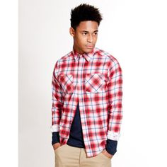 White Label plaid shirt from Republic
