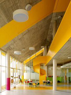 Belinda Tato, Jose Luis Vallejo, ecosistemaurbano — Ecopolis Plaza kindergarten and new public space