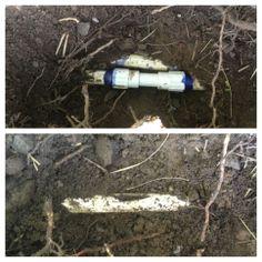 Quick fix for this broken sprinkler line in Cottonwood Heights, Utah.