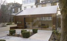 Kebony garden house