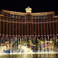 Las Vegas's Bellagio Fountain - The Top Instagrammed Design Destinations In The U.S. - Photos