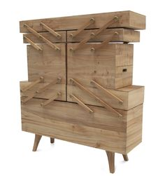 Elegant Opened Fashionable Modular Cabinet Unit That Can Be Stretched   Woodworking    Pinterest   Furniture, Wood And Woodwork Images
