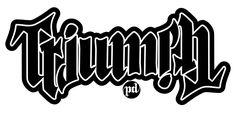 Triumph ambigram