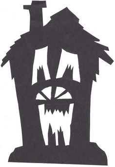 Haunted House Silhouette by greymowser2006, via Flickr