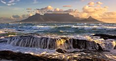 HD wallpaper - Landscapes - Cape Town, south africa, the ocean, the mountains - Scenic Photography, Landscape Photography, Photography Tips, Nature Photography, Table Mountain Cape Town, Tourist Center, Ocean Shores, Cape Town South Africa, Landscape Wallpaper