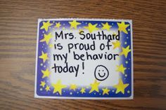 Fun in First Grade: Dealing with the Difficult Child. How to reward positive behavior. Also a great first grade blog!