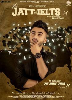 Poster out now of jatt vs ielts New punjabi movie Ravneet Singh, Hobby dhaliwal, Khayali, Gurpreet ghughi 2020 Movies, Comedy Movies, Punjabi Comedy, Music Production Companies, Ielts, Movie Stars, It Cast, Cinema, Entertaining