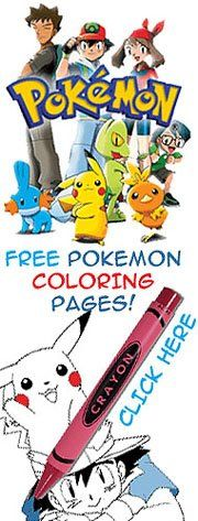 Lots and lots of Pokemon coloring pages - free and printable