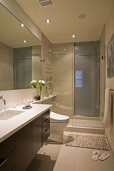 Modern Walk-in Showers - Small Bathroom Designs With Walk ...