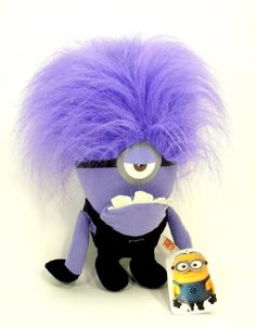 GBP - Evil Minions Plush Toy Despicable Me Purple Stuffed Animal Monster One-Eyed Purple Minions, Minions Love, Minions Despicable Me, My Minion, Minion Stuff, Funny Minion, Evil Minions, Harvest Party, Developmental Toys