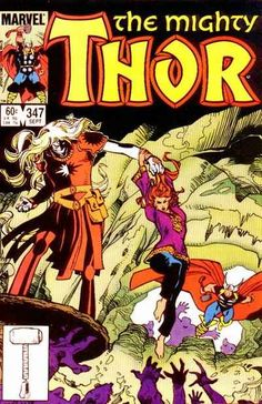Mighty Thor # 347 by Walter Simonson