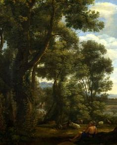 Claude Lorrain - Landscape with a Goatherd and Goats