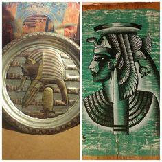 40 TL İki ürün bir arada  Mısır firavunu kombini. Soldaki bakır duvar tabağı 40cm çapında. Sağdaki ise gerçek papirüse firavun çalışması. Ayrı ayrı da satılabilir. #satılık #eskiusul #nostalji #ikinciel #antika #mezat #hediye #hediyelik #retro #vintage #vintageshop #antikacı #eski #instaturkey #dekorasyon #takip #koleksiyon #istanbul #izmir #ankara #kadıköy #kadikoy #vintageshop #vintagestyle #eskici #kolleksiyoncu #ikinciel #firavun
