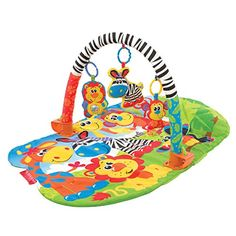 Playgro 5 in 1 Super Safari Gym for Baby -- ON SALE Check it Out