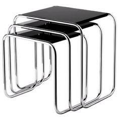 Gispen Mimi bijzettafels Bauhaus Furniture, Art Deco Furniture, Modern Furniture, Furniture Design, Decoration, Dutch, Kitchen Appliances, The Originals, Interior
