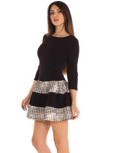 Patterned stretch jersey casual balloon evening dress http://www.luanaromizi.com/en/dresses-woman/patterned-stretch-jersey-casual-balloon-evening-dress.html #Patterned #stretch #jersey #casual #balloondress #madeinitaly #keydi #luanaromizi