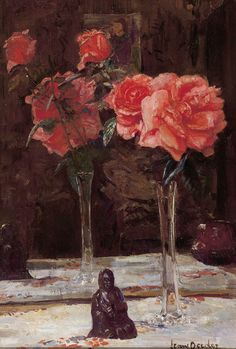 FRANS OERDER  A Still Life with Roses