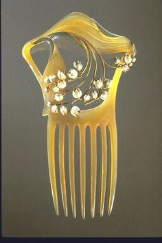 Lalique  ~~~Bethany had long cascading curls that both of us enjoyed decorating with bling.