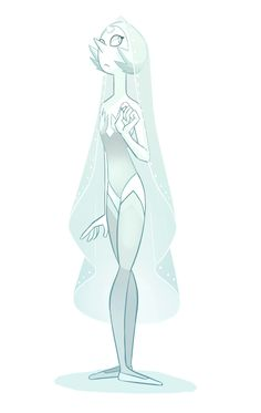 Animesthetic : kroov:   Oh look i made up a White Diamond Pearl