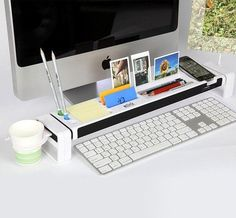 Cool stuff for office desk Simple Istick Multifunction Desktop Organizer Pinterest 63 Best Cool Things For Your Office Images Good Ideas Cool