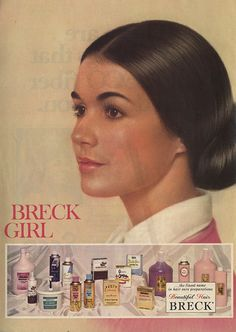 Couldn't resist adding this 1973 Breck girl as an update to my childhood fantasy spy team. Retro Makeup, Vintage Makeup, Vintage Vanity, Vintage Beauty, Vintage Ads, Retro Ads, Miss Title, Breck Shampoo, 70s Hair