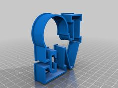 love Cookie Cutter by sclaurel - Thingiverse