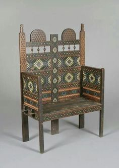Traditional painted chair,  Romania  http://www.pinterest.com/andrageorgescu/romania/