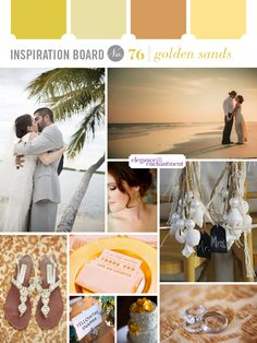 A different take on beach weddings. Inspiration from Elegance & Enchantment.